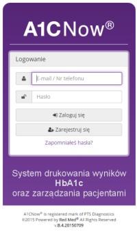 A1C Now System dla diabetologów