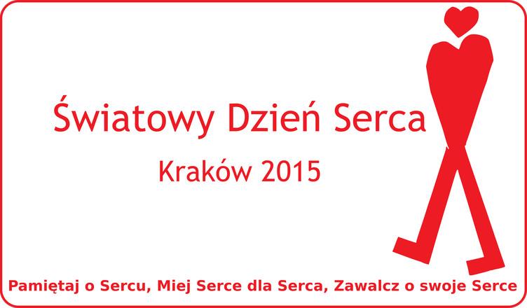 Światowy Dzień Serca - Kraków 2015