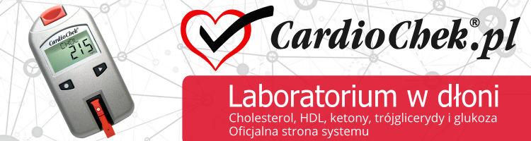cardiochek.pl - Laboratorium w dłoni. Cholesterol, HDL, ketony, trójglicerydy i glukoza Oficjalna strona systemu